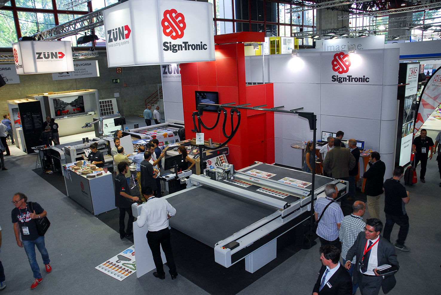 Vista general del stand de Sign-Tronic